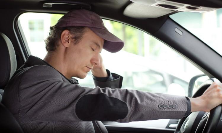 conductor cansado